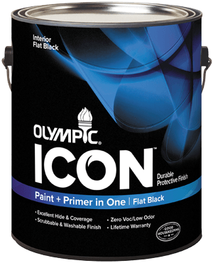 Olympic® ICON™ Interior Flat Black