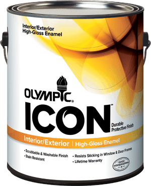 Olympic® ICON™ Interior / Exterior High Gloss