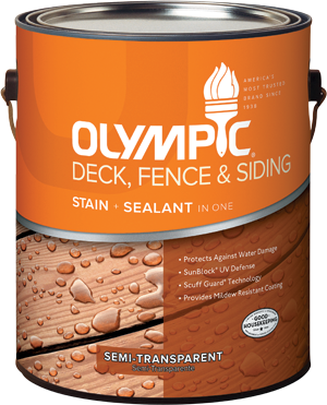 Olympic® Deck, Fence & Siding Stain