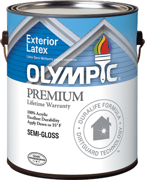Olympic&#174; Premium Exterior Paint with DirtGuard Technology