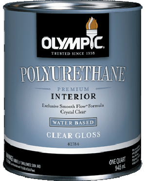 Olympic&#174; Premium Water-Based Polyurethane
