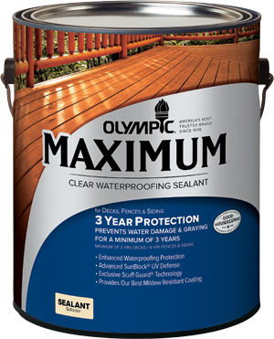 Olympic® Maximum® Waterproofing Sealant
