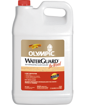 Olympic® WaterGuard® for Wood Waterproofing Sealant