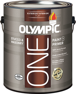 Olympic® ONE Stucco & Masonry Interior / Exterior Paint