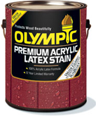 Olympic&#174; Premium Acrylic Latex Stain