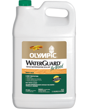 Olympic® Waterguard® Wood Tinted Waterproofing Sealant