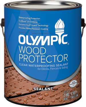 Olympic&#174; Wood Protector Waterproofing Sealant