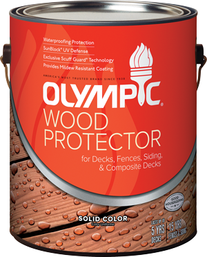 Olympic® WOOD PROTECTOR Stain + Sealant in One