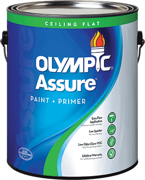 Olympic® Assure™ Interior Ceiling Paint