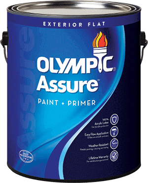 Olympic® Assure™ Exterior Paint